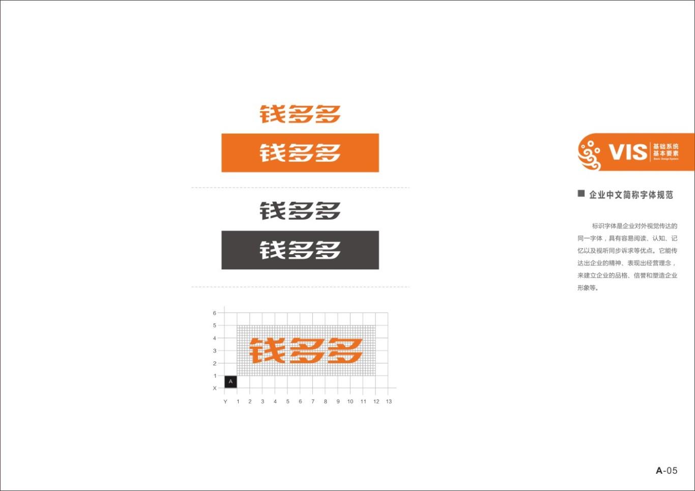 四川广融钱多多品牌及VI形象设计图6