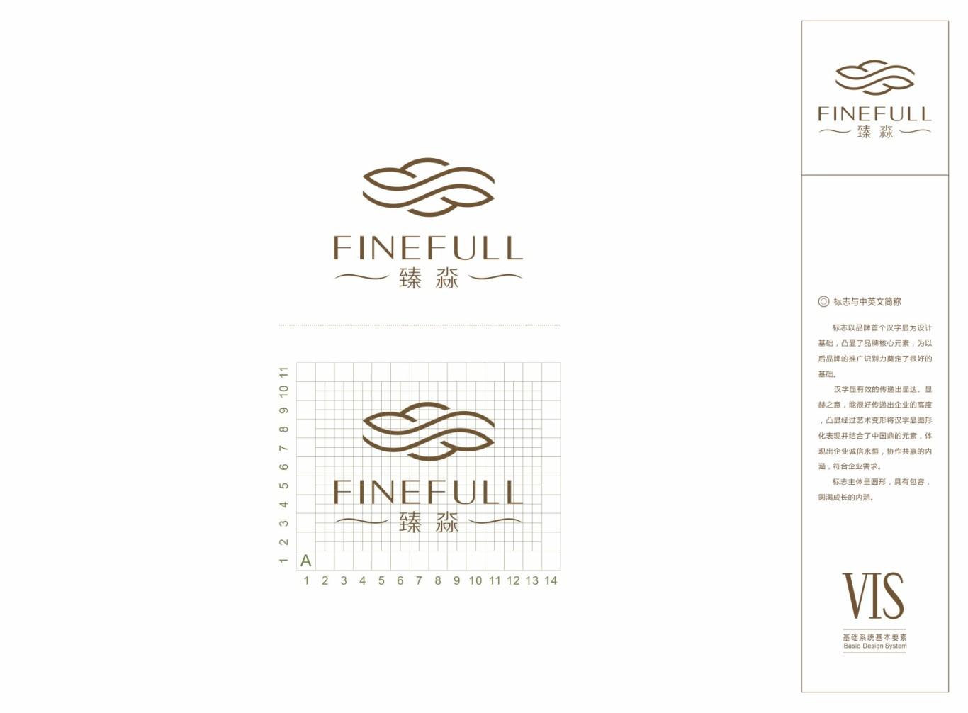 北京五星级FINEFULL-SPA水疗中心标志及VI设计图9