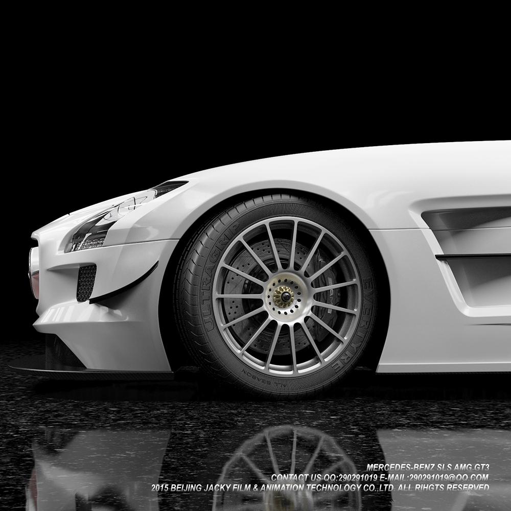 汽车3D建模与效果图渲染图6