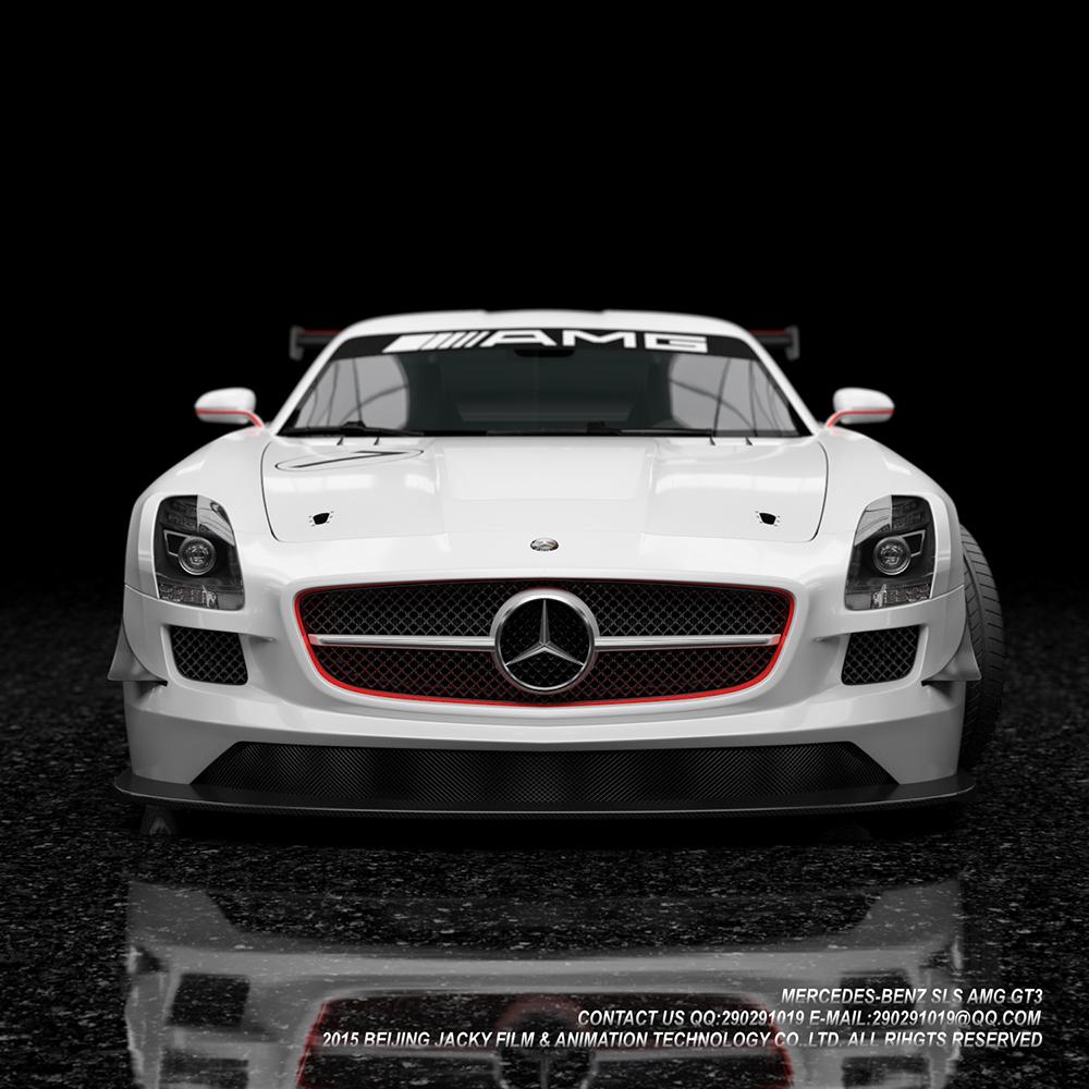 汽车3D建模与效果图渲染图4