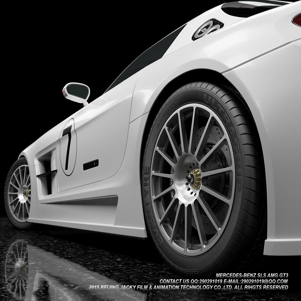 汽车3D建模与效果图渲染图5