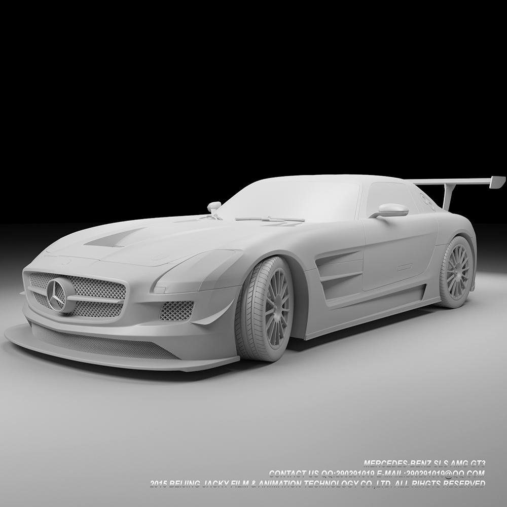 汽车3D建模与效果图渲染图0