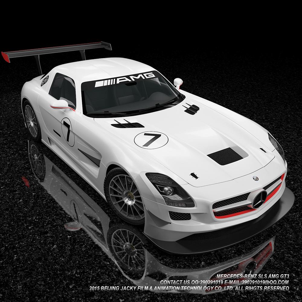 汽车3D建模与效果图渲染图9