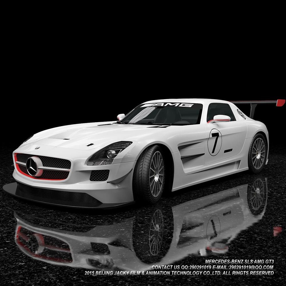 汽车3D建模与效果图渲染图3