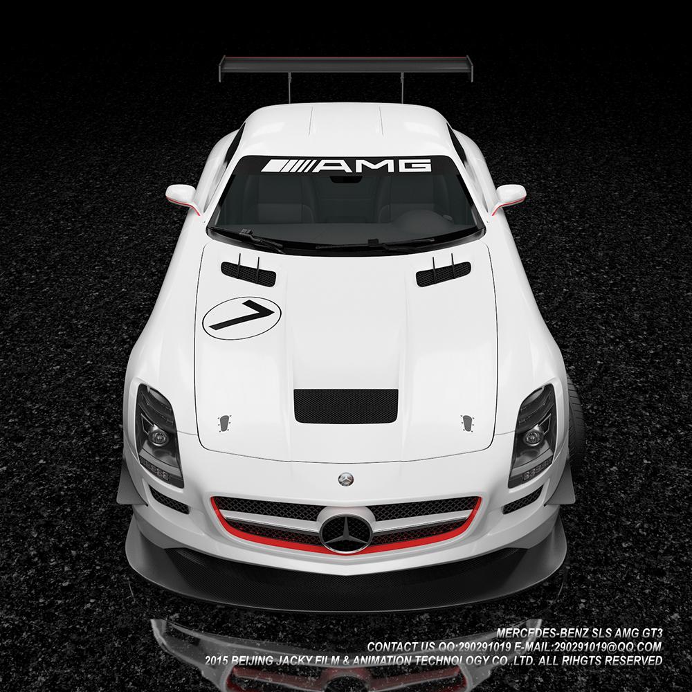 汽车3D建模与效果图渲染图8