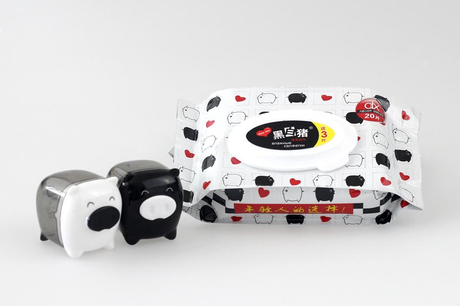 黑白猪品牌包装设计图7