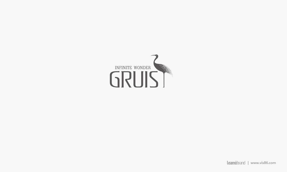 英国GRUIS皮具品牌标志设计图0
