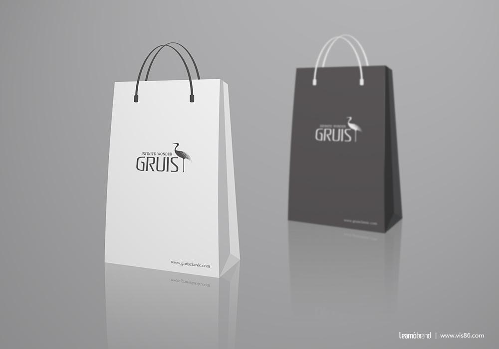 英国GRUIS皮具品牌标志设计图5