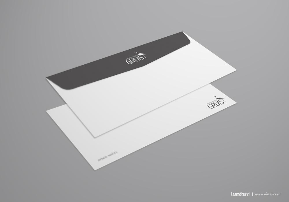 英国GRUIS皮具品牌标志设计图2