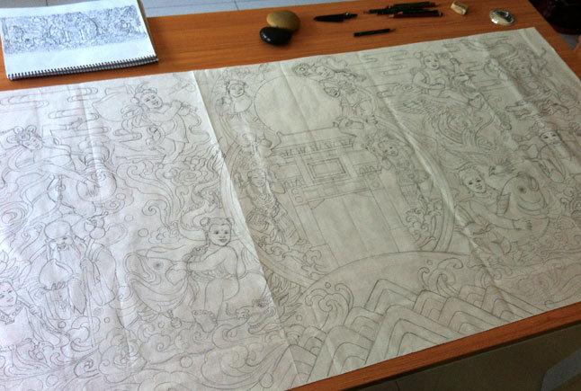天津特产小八件设计图2