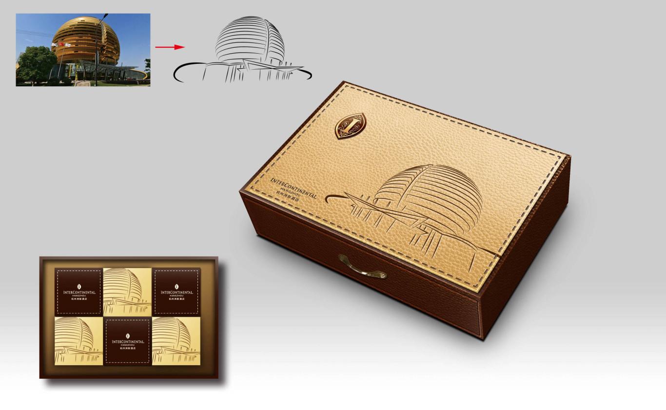 杭州洲际酒店月饼包装设计方案图0