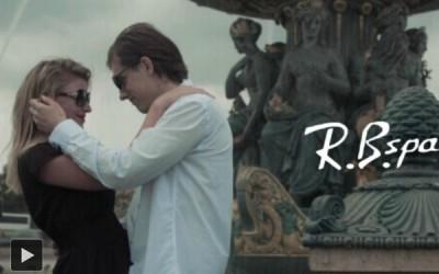 法国巴黎取景墨镜品牌展示视频