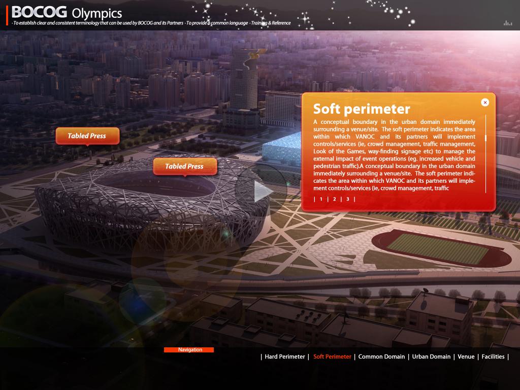 国际奥组委做的flash多媒体交互视频光盘图5