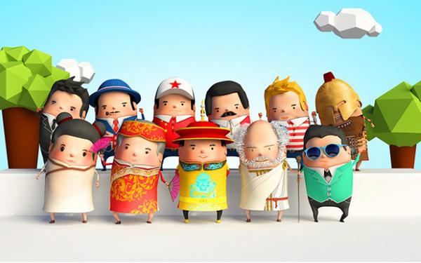 百度百科数字博物馆《博物馆三围观》预热动画片拍摄制作
