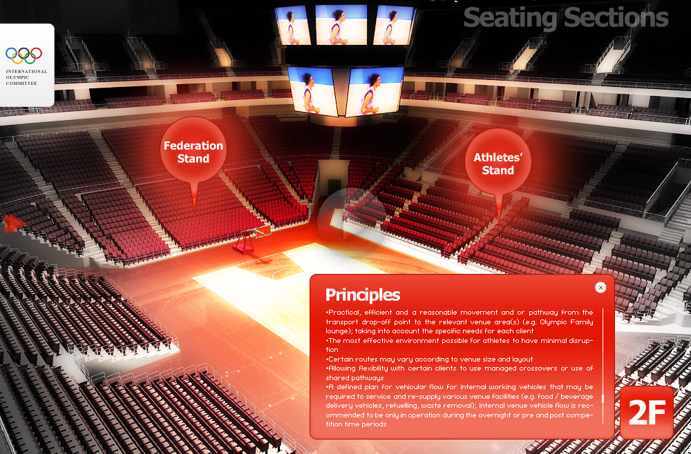 国际奥组委做的flash多媒体交互视频光盘图2
