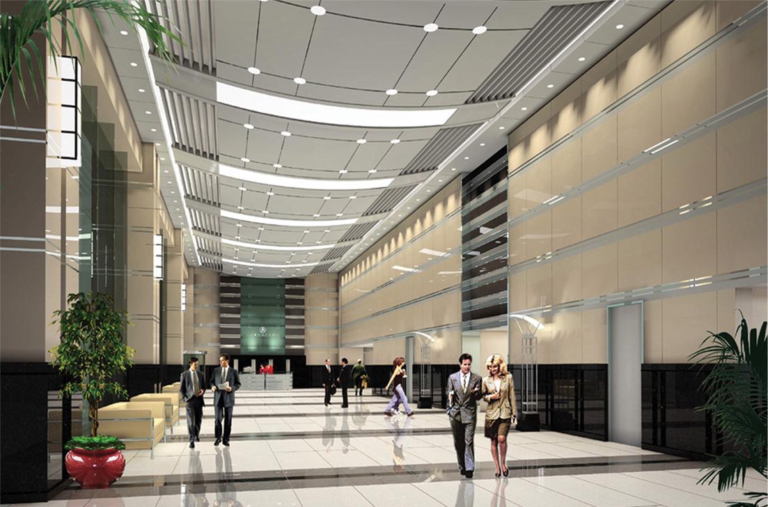 北京渔阳集团-渔阳大厦商业空间设计图0