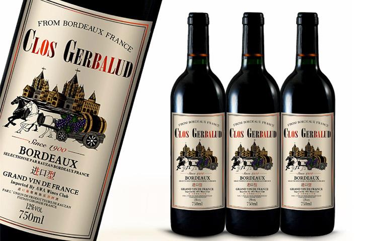 葡萄酒包装设计图0