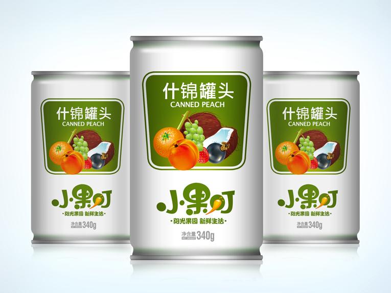 小果叮饮料包装设计、Logo设计、VIS设计图3