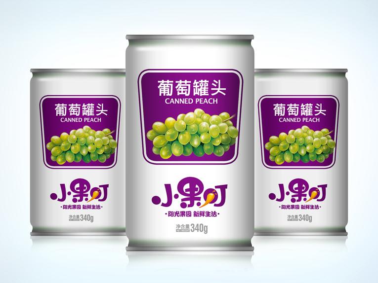 小果叮饮料包装设计、Logo设计、VIS设计图1