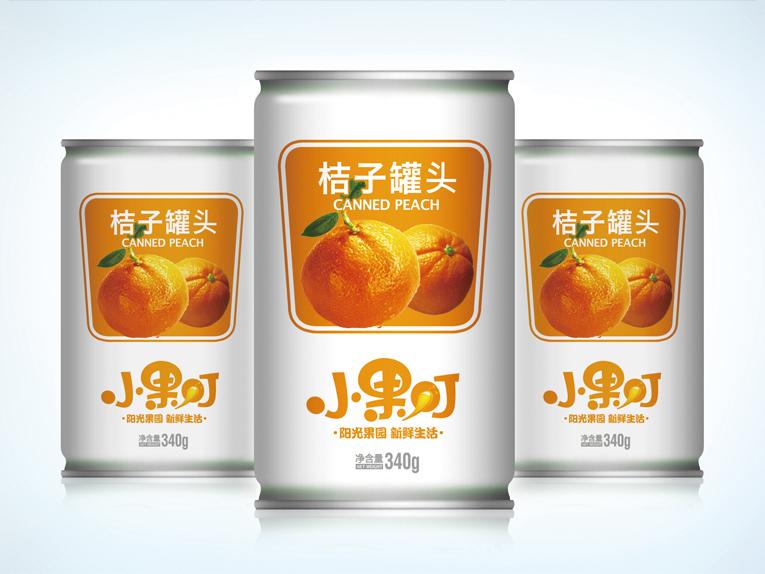小果叮饮料包装设计、Logo设计、VIS设计图0