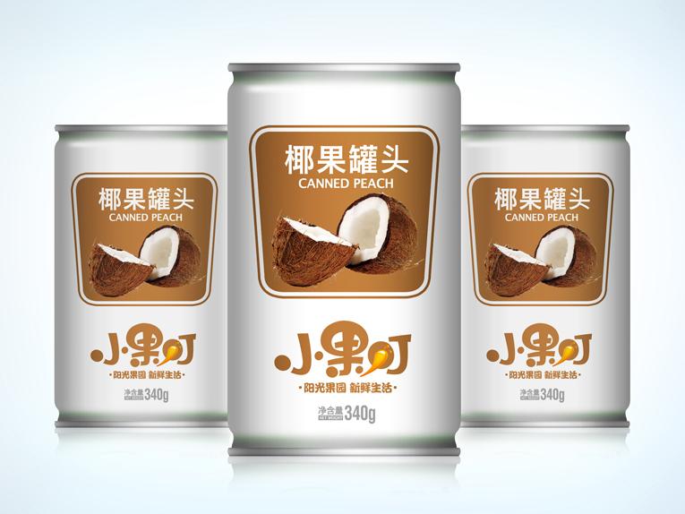 小果叮饮料包装设计、Logo设计、VIS设计图2