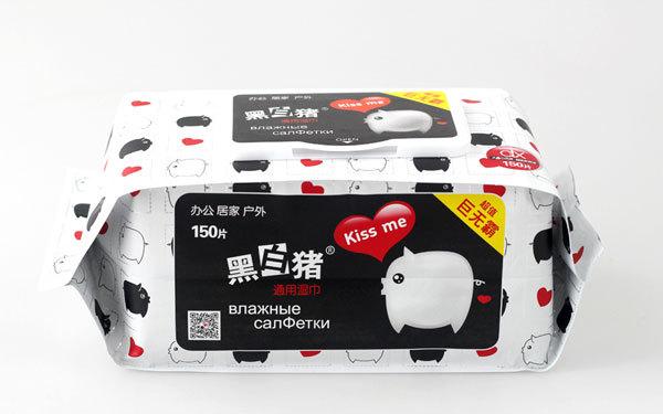 黑白猪品牌包装设计