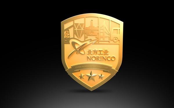北方工业盾牌礼品设计