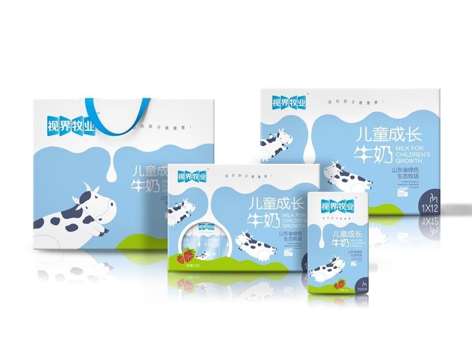 东君乳业—儿童奶包装盒设计图21