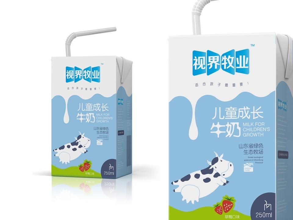东君乳业—儿童奶包装盒设计图17