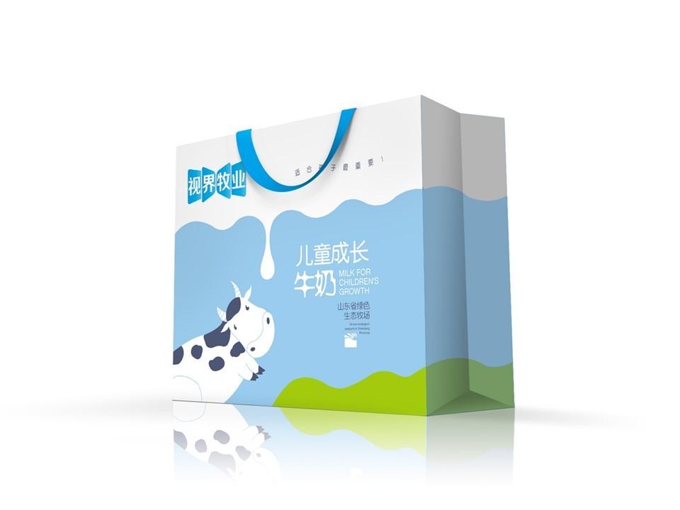东君乳业—儿童奶包装盒设计图20
