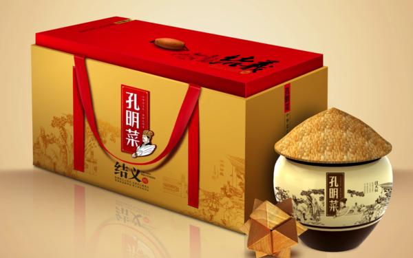 襄阳孔明菜系列产品包装设计