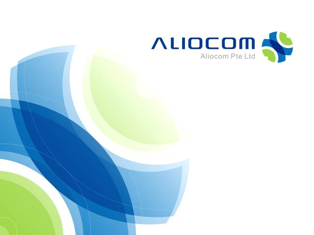ALIOCOM品牌形象设计图1