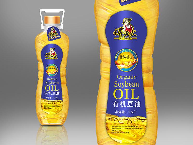 傅老大大豆油品牌包装设计图1