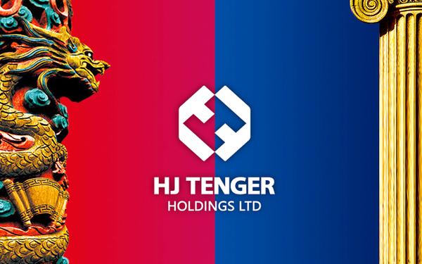 HJ TENGER英國天嘉控股Logo設計