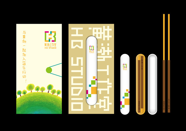 黄渤工作室标志图3