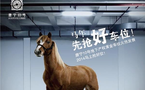 邢台唐宁十号车位广告(13年底)