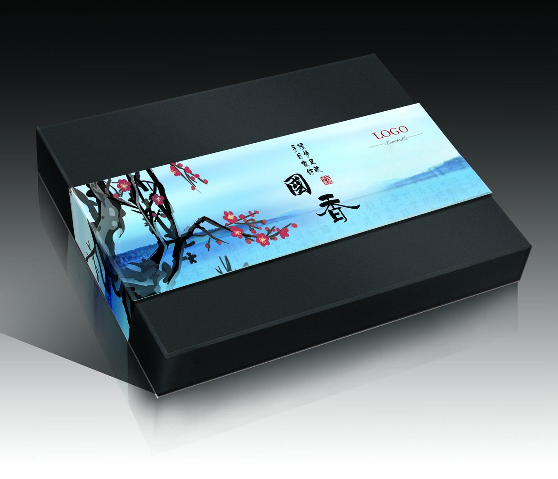 中国水墨礼盒图0