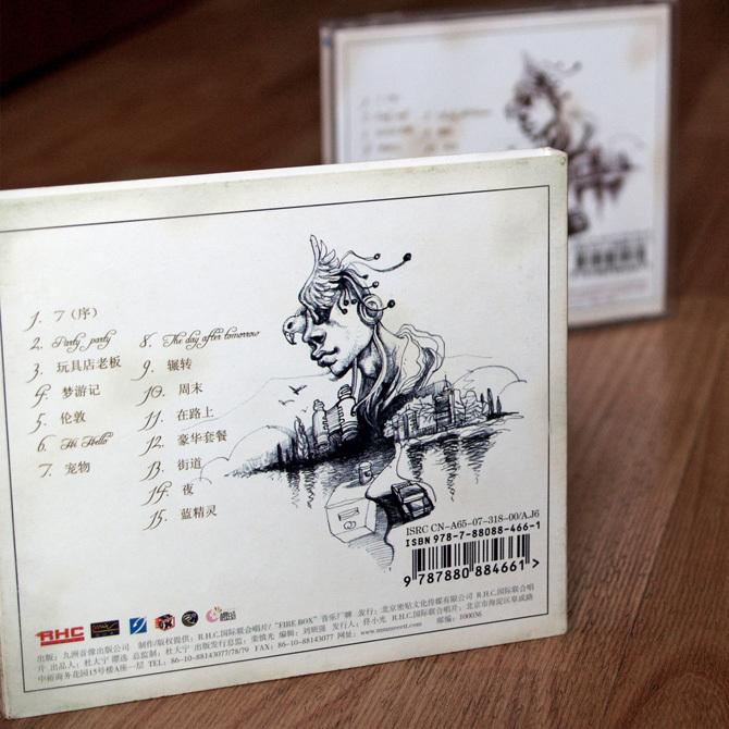 FANCY WORLD 《7》唱片包装图3