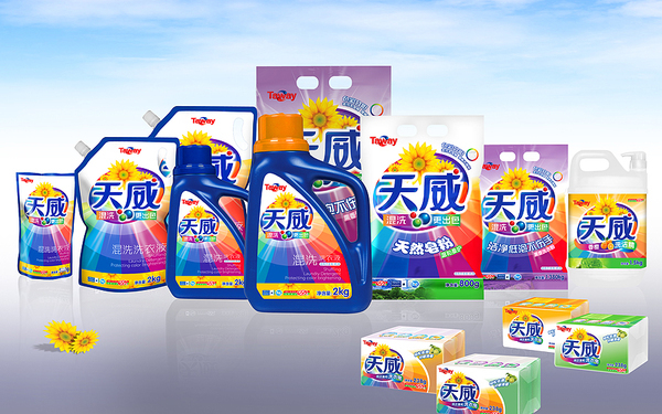 天威日化品牌全案设计