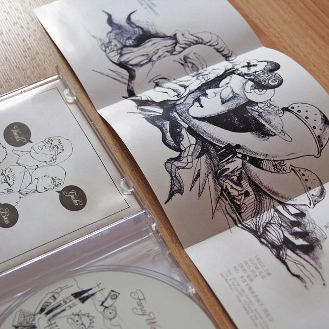 FANCY WORLD 《7》唱片包装图5