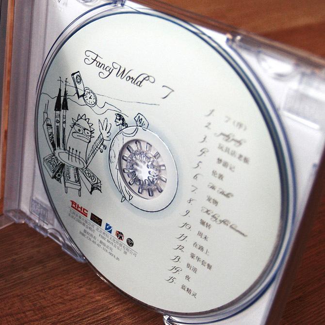FANCY WORLD 《7》唱片包装图2
