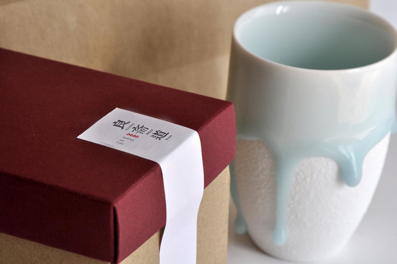 良斋道药食同源品牌咨询与LogoVIS设计包装设计图5