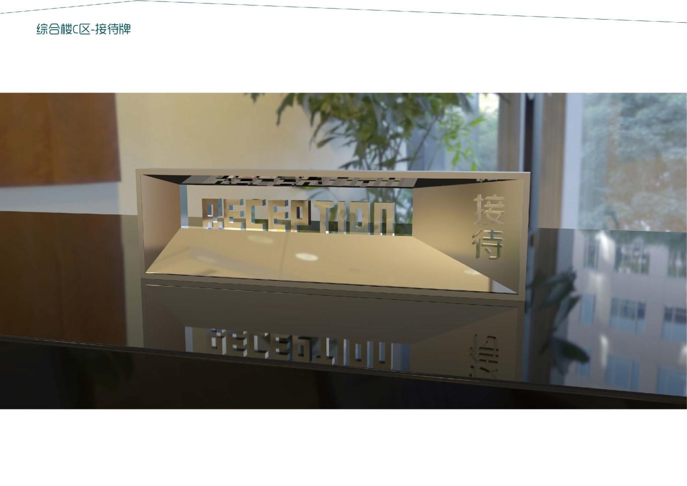 大连泰达慧谷开发区导视系统设计图33
