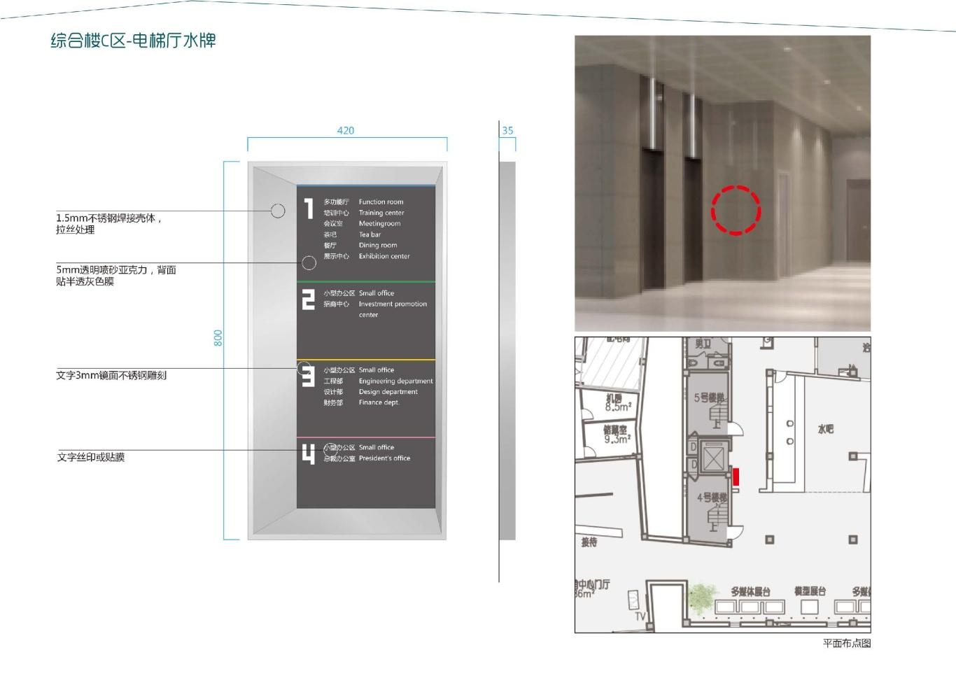大连泰达慧谷开发区导视系统设计图36