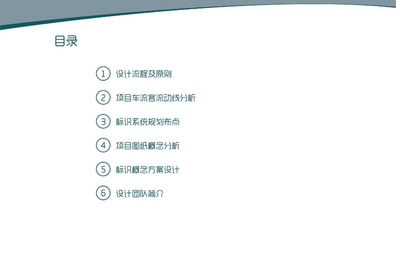 大连泰达慧谷开发区导视系统设计图1