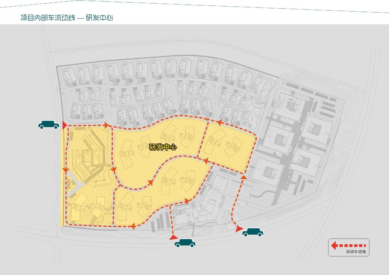 大连泰达慧谷开发区导视系统设计图10
