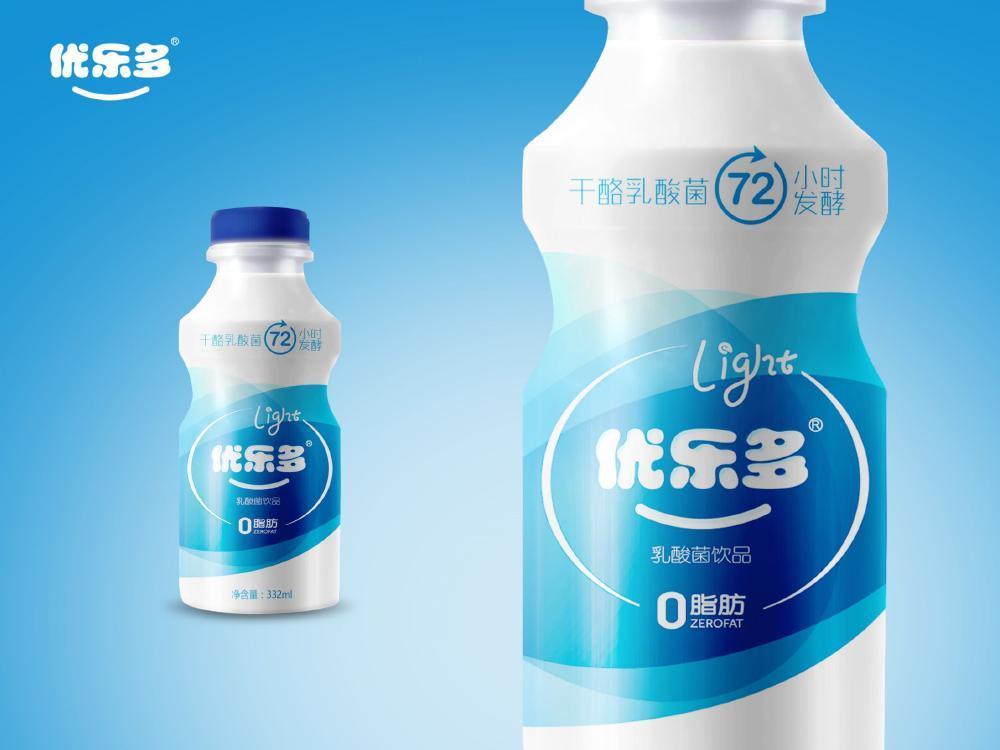 优乐多优酸乳包装设计图12