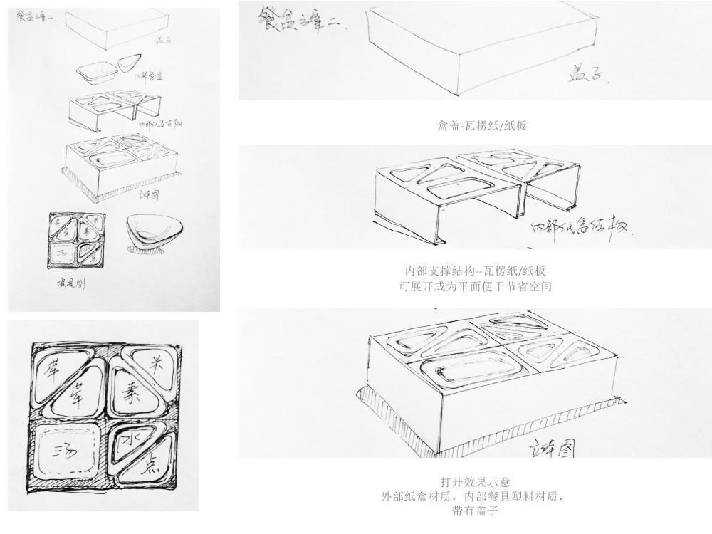 采薇快餐品牌标识设计图25