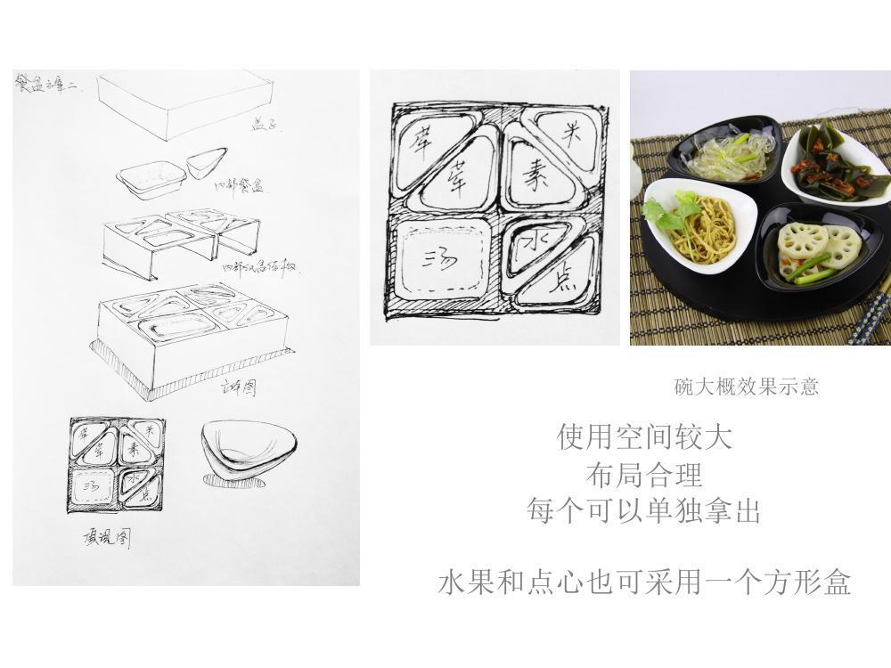 采薇快餐品牌标识设计图26
