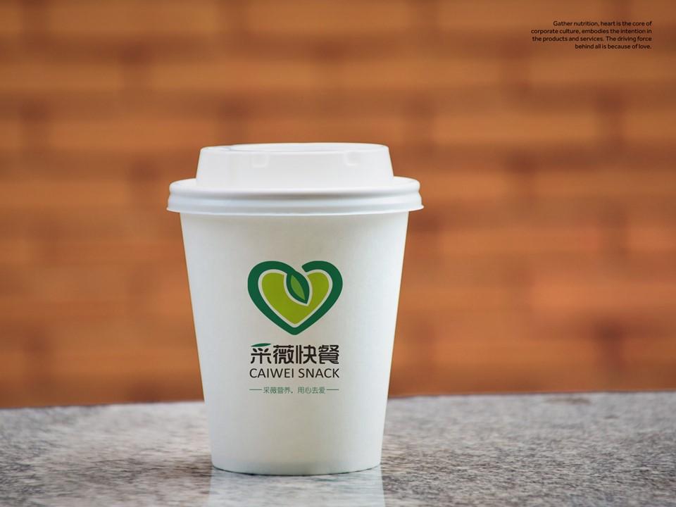 采薇快餐品牌标识设计图7